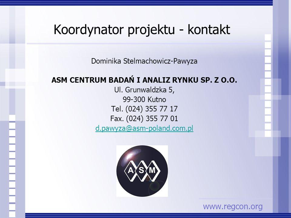 Koordynator projektu - kontakt