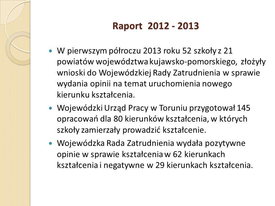 Raport 2012 - 2013