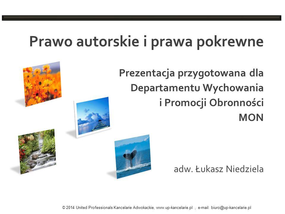 adw. Łukasz Niedziela Prawo autorskie i prawa pokrewne