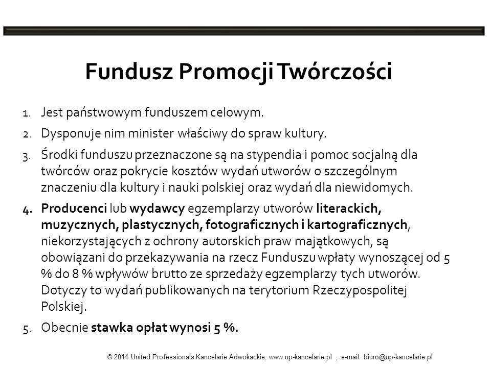 Fundusz Promocji Twórczości