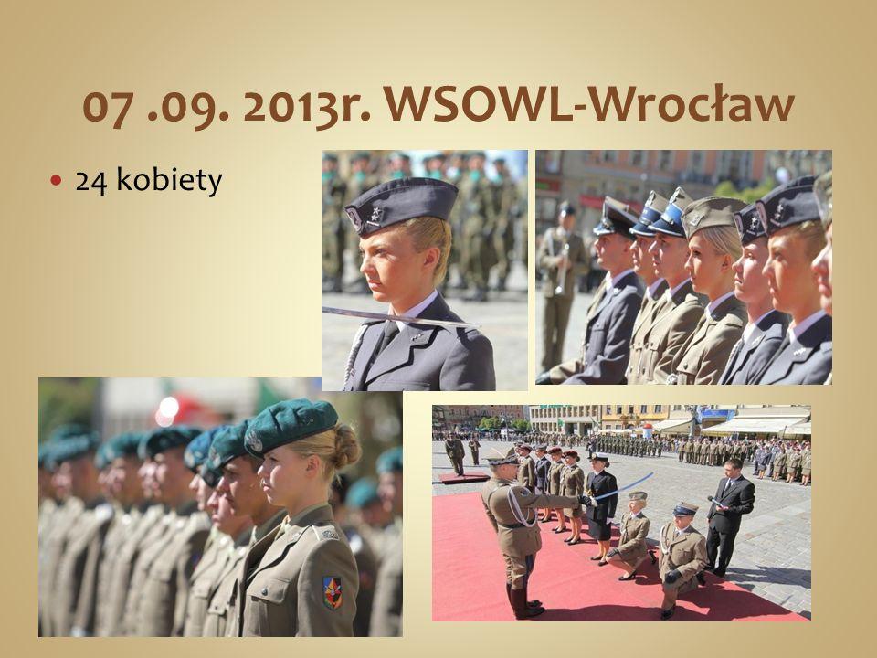 07 .09. 2013r. WSOWL-Wrocław 24 kobiety