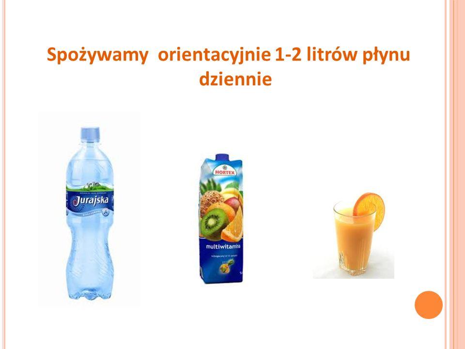 Spożywamy orientacyjnie 1-2 litrów płynu dziennie