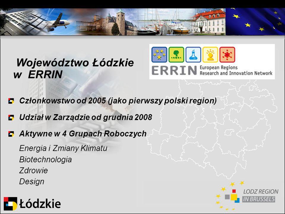 Województwo Łódzkie w ERRIN
