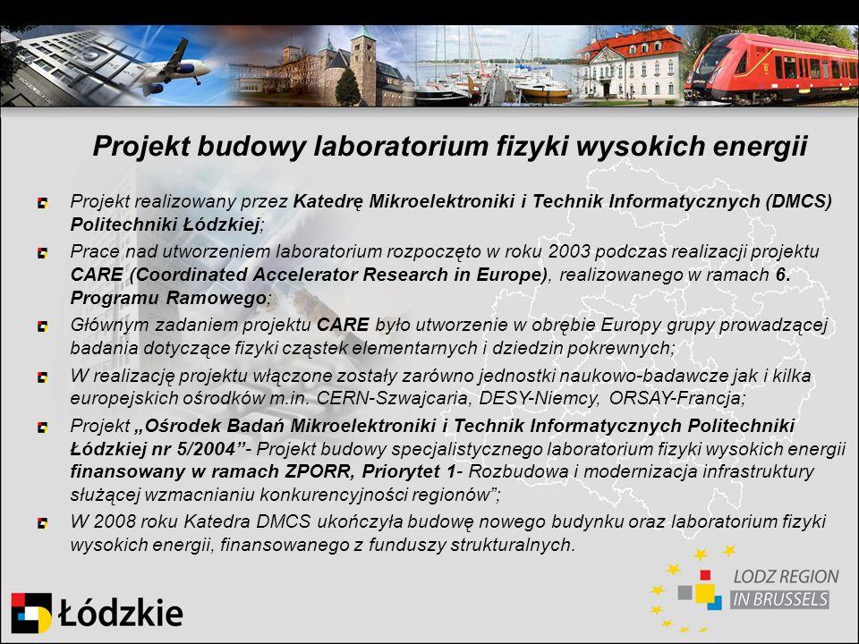 Projekt budowy laboratorium fizyki wysokich energii