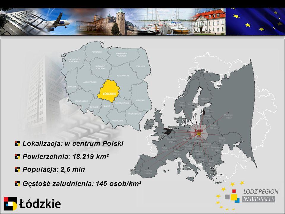 Lokalizacja: w centrum Polski