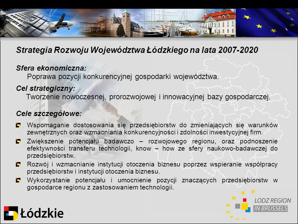 Strategia Rozwoju Województwa Łódzkiego na lata 2007-2020
