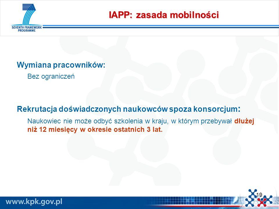 IAPP: zasada mobilności