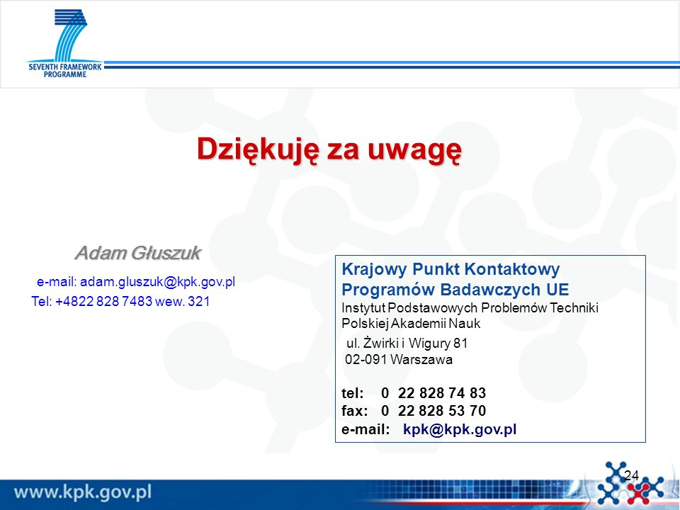e-mail: adam.gluszuk@kpk.gov.pl
