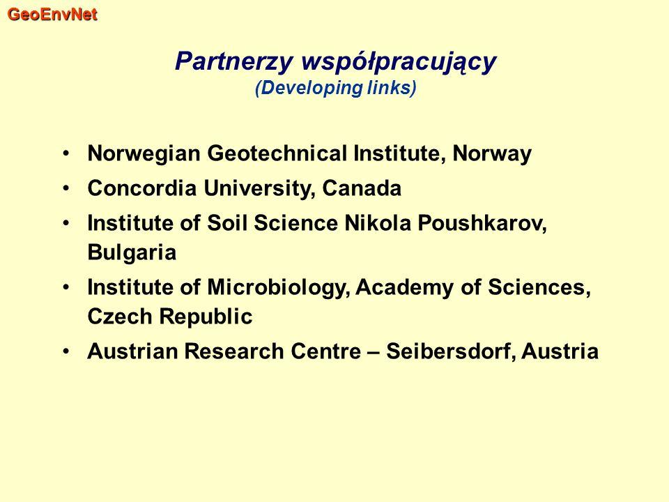 Partnerzy współpracujący (Developing links)