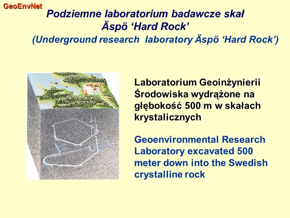 Podziemne laboratorium badawcze skał