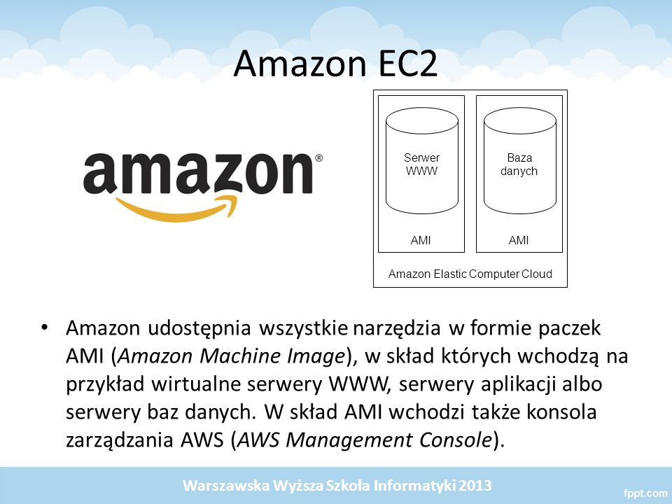 Amazon Elastic Computer Cloud