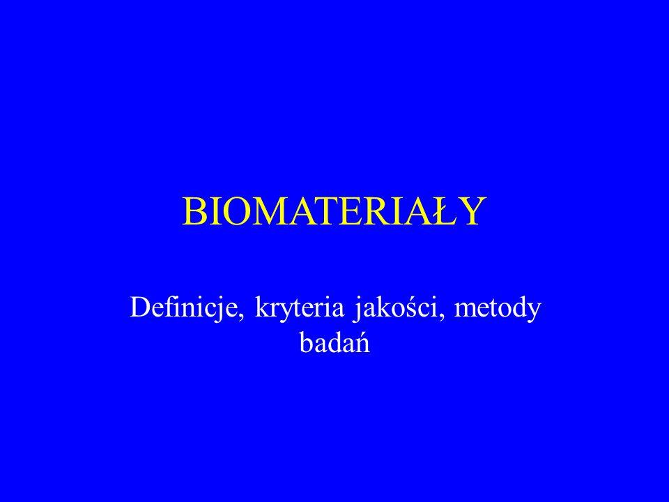 Definicje, kryteria jakości, metody badań
