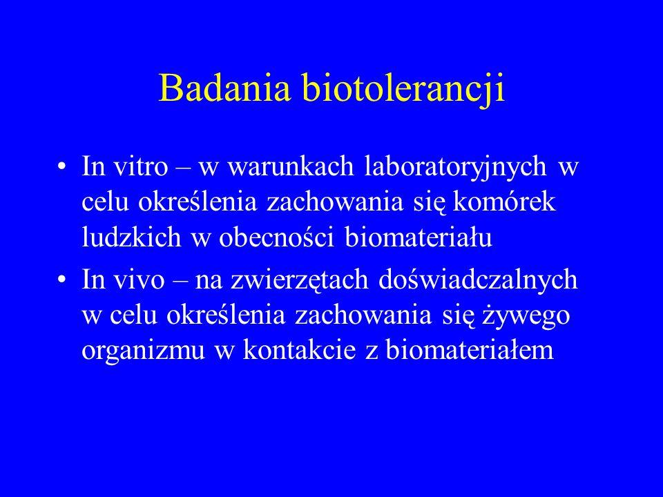 Badania biotolerancji