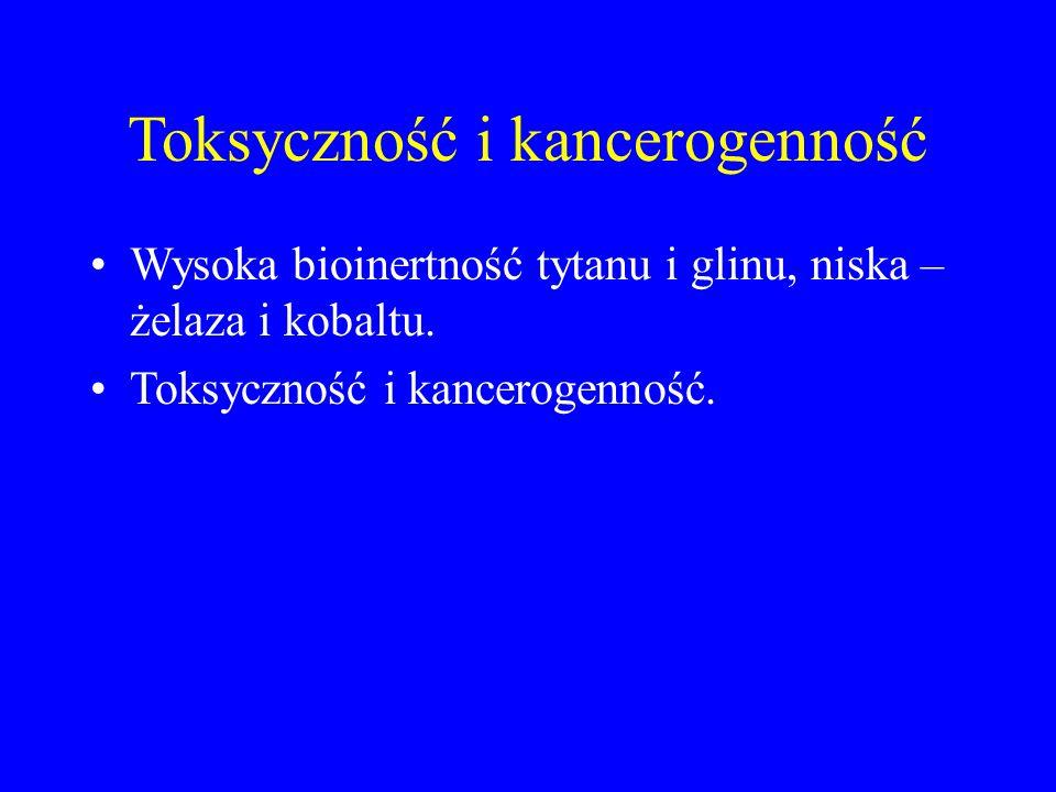 Toksyczność i kancerogenność