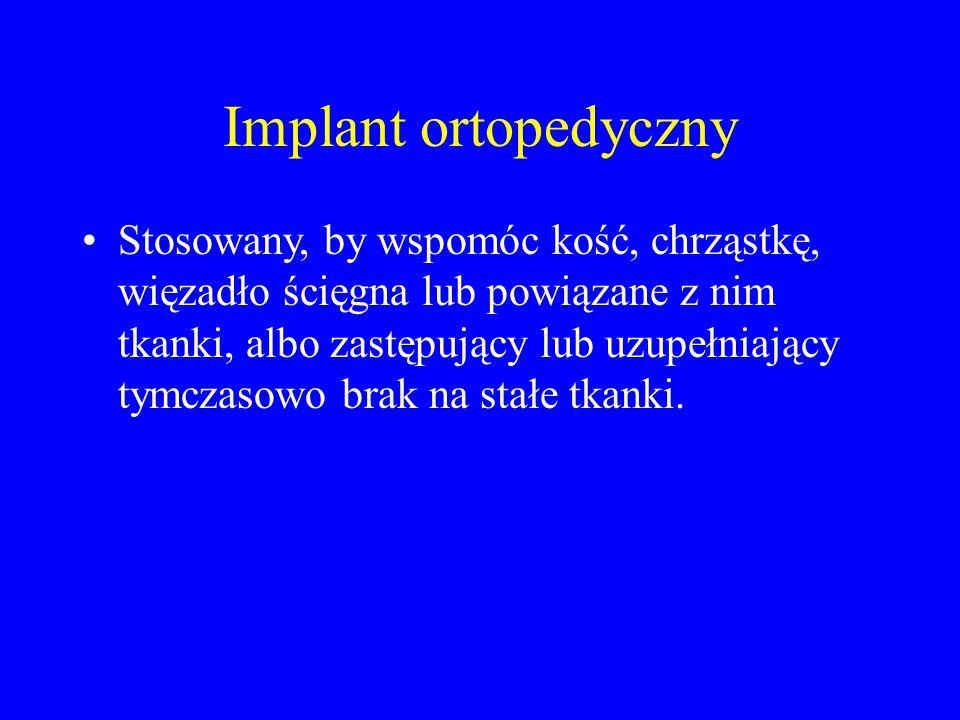 Implant ortopedyczny
