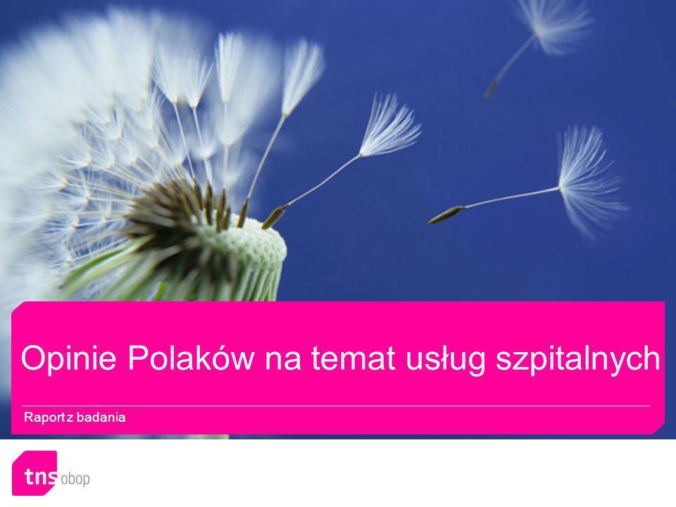 Opinie Polaków na temat usług szpitalnych