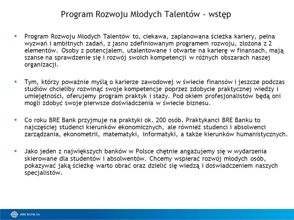 Program Rozwoju Młodych Talentów - wstęp