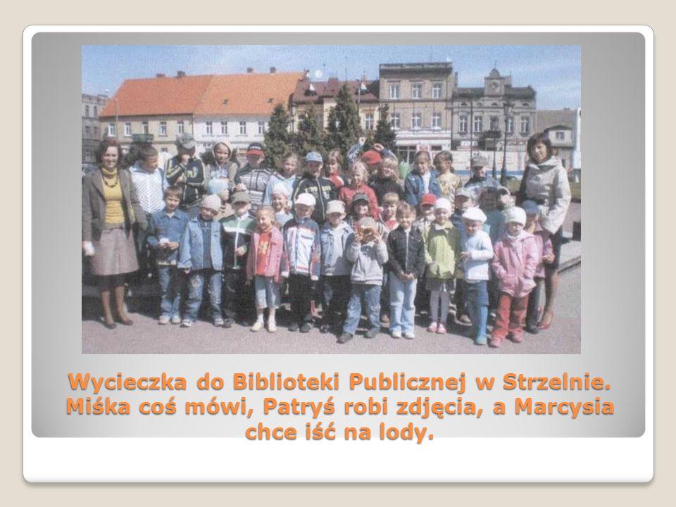 Wycieczka do Biblioteki Publicznej w Strzelnie