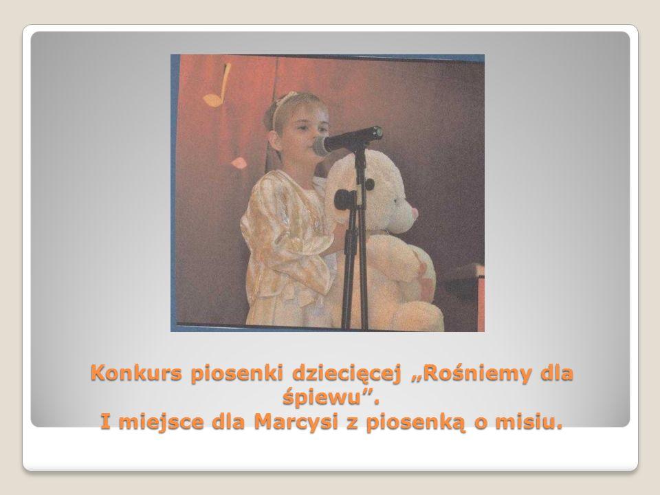 """Konkurs piosenki dziecięcej """"Rośniemy dla śpiewu"""