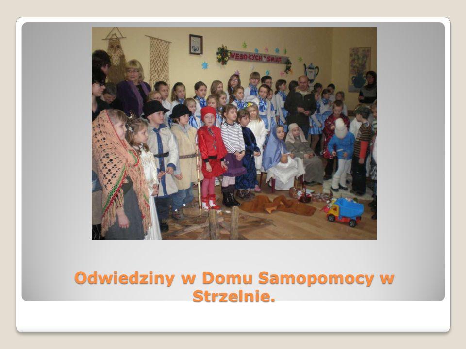 Odwiedziny w Domu Samopomocy w Strzelnie.