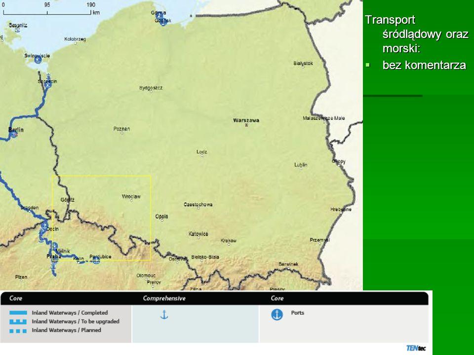 Transport śródlądowy oraz morski: