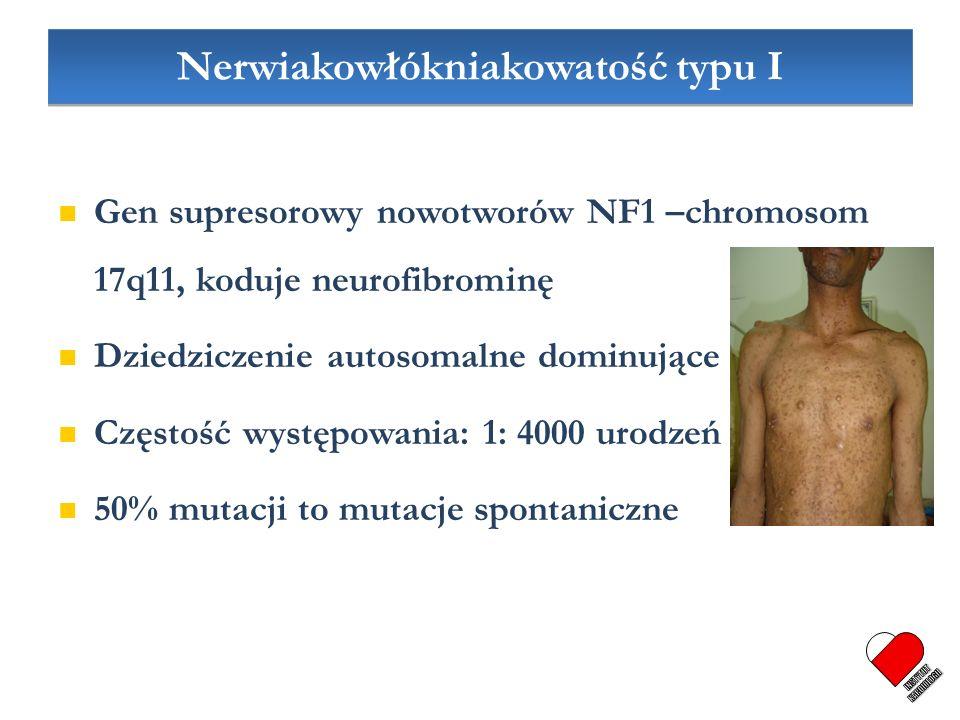 Nerwiakowłókniakowatość typu I