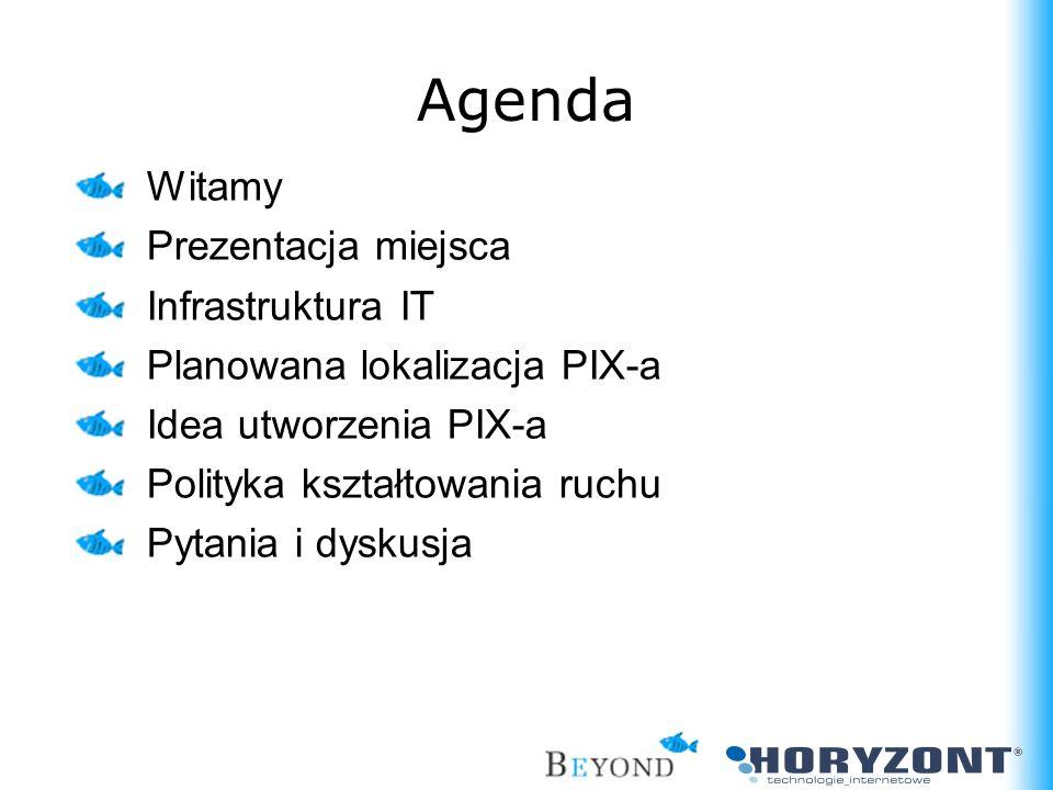 Agenda Witamy Prezentacja miejsca Infrastruktura IT
