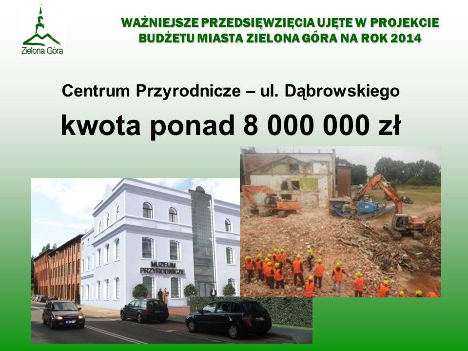 Centrum Przyrodnicze – ul. Dąbrowskiego