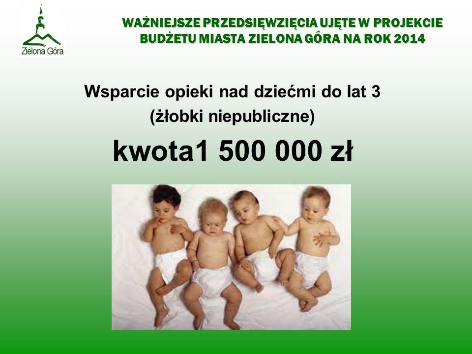 Wsparcie opieki nad dziećmi do lat 3 (żłobki niepubliczne)