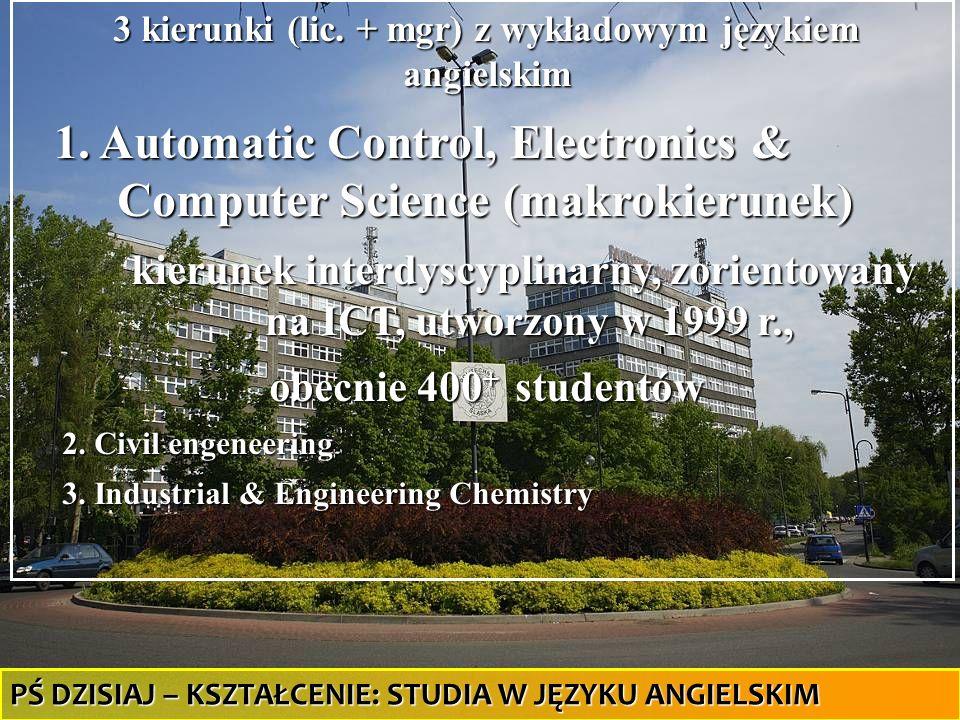 kierunek interdyscyplinarny, zorientowany na ICT, utworzony w 1999 r.,