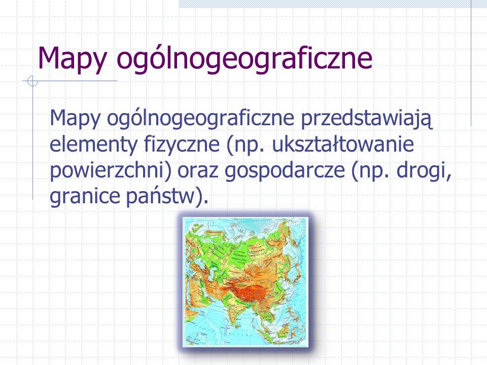 Mapy ogólnogeograficzne