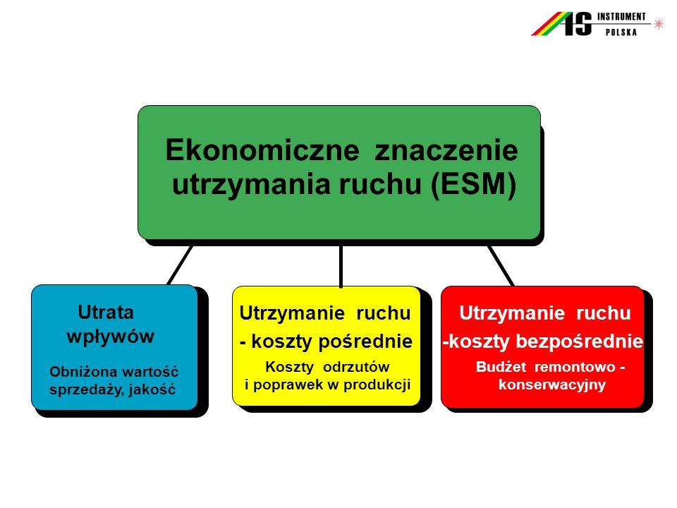 Ekonomiczne znaczenie utrzymania ruchu (ESM)