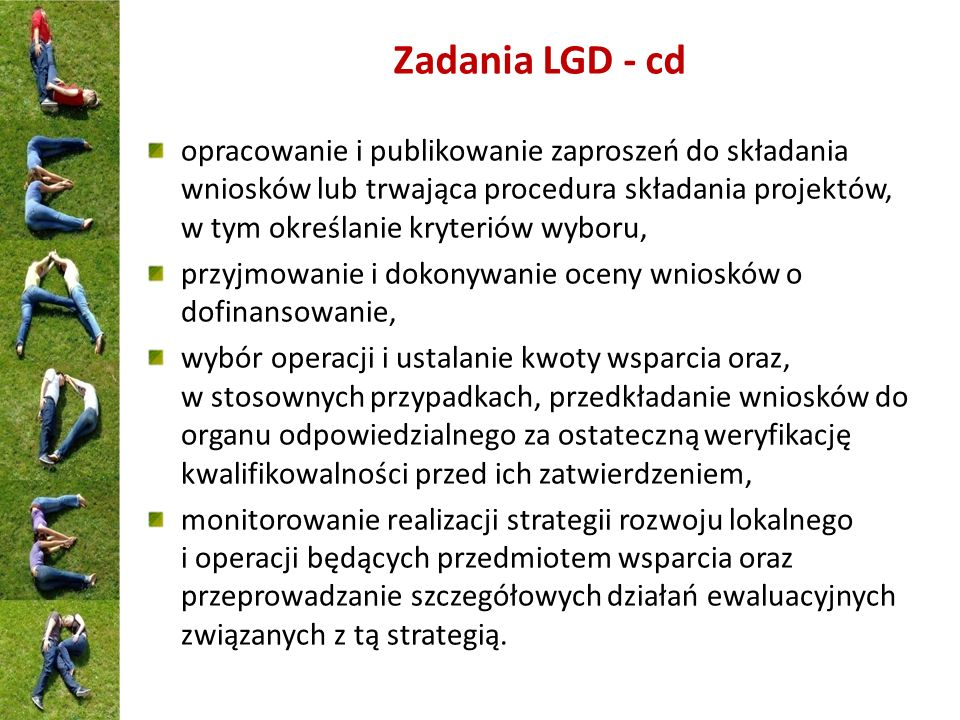 Zadania LGD - cd