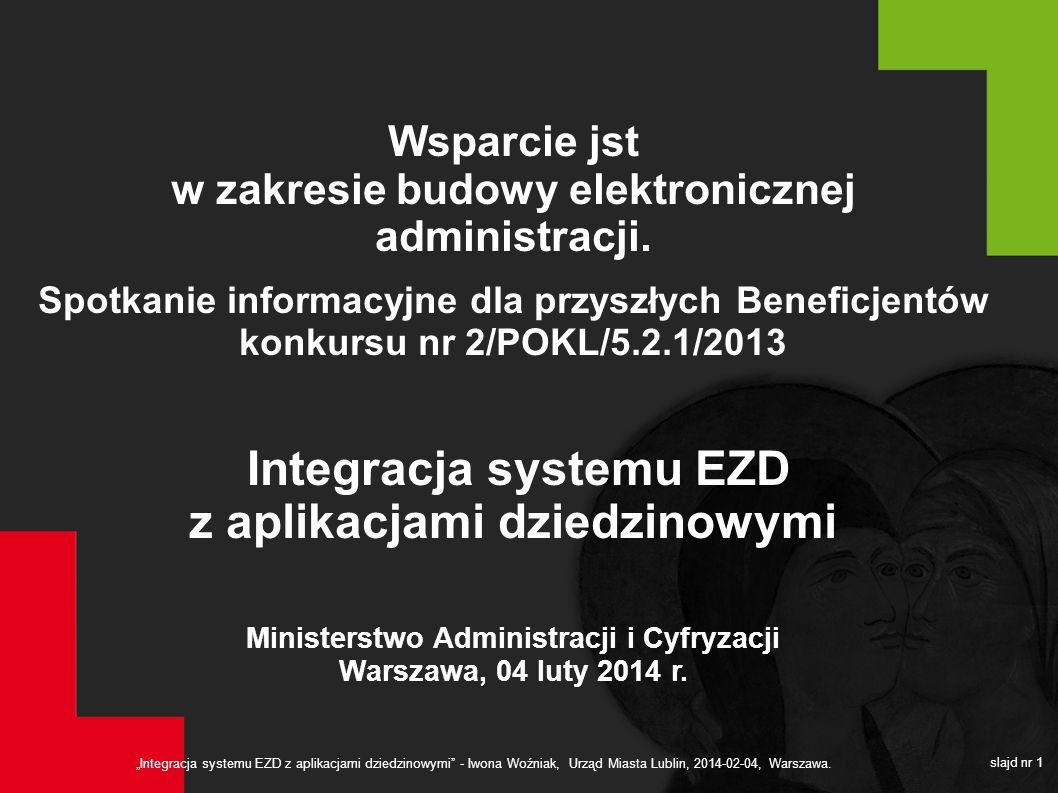 Wsparcie jst w zakresie budowy elektronicznej administracji.