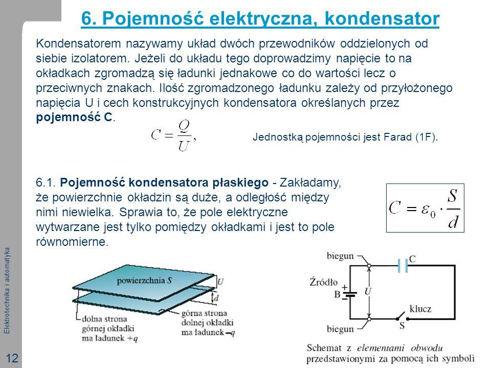 6. Pojemność elektryczna, kondensator