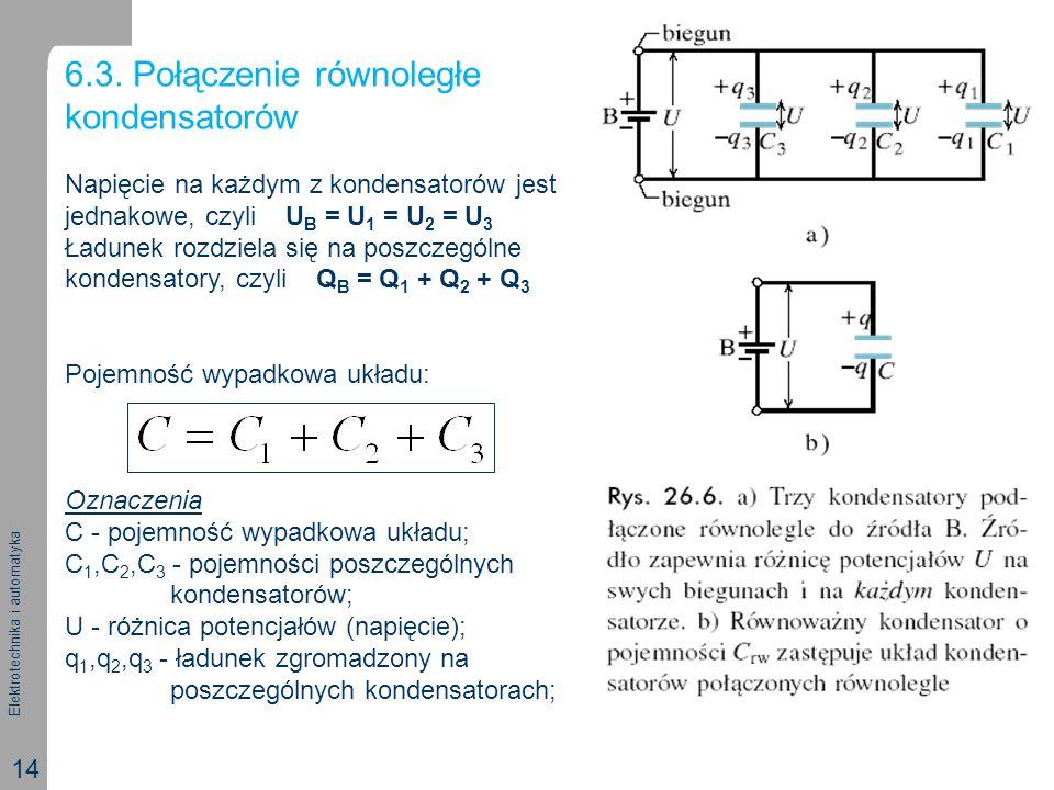 6.3. Połączenie równoległe kondensatorów