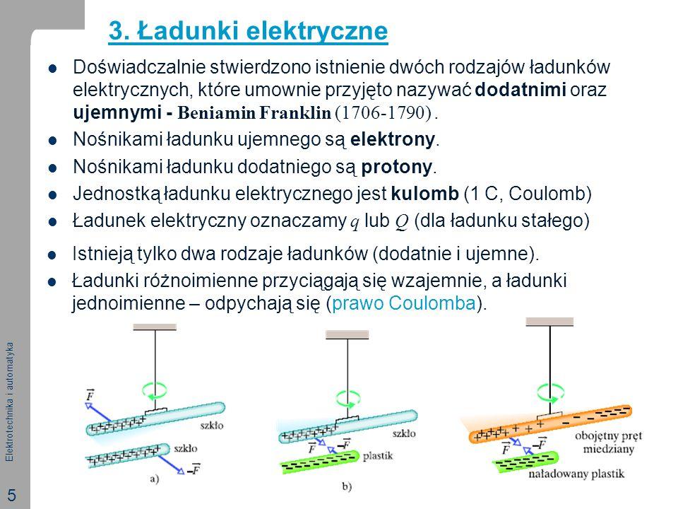 3. Ładunki elektryczne