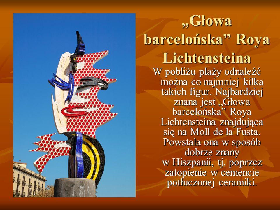 """Głowa barcelońska Roya Lichtensteina"