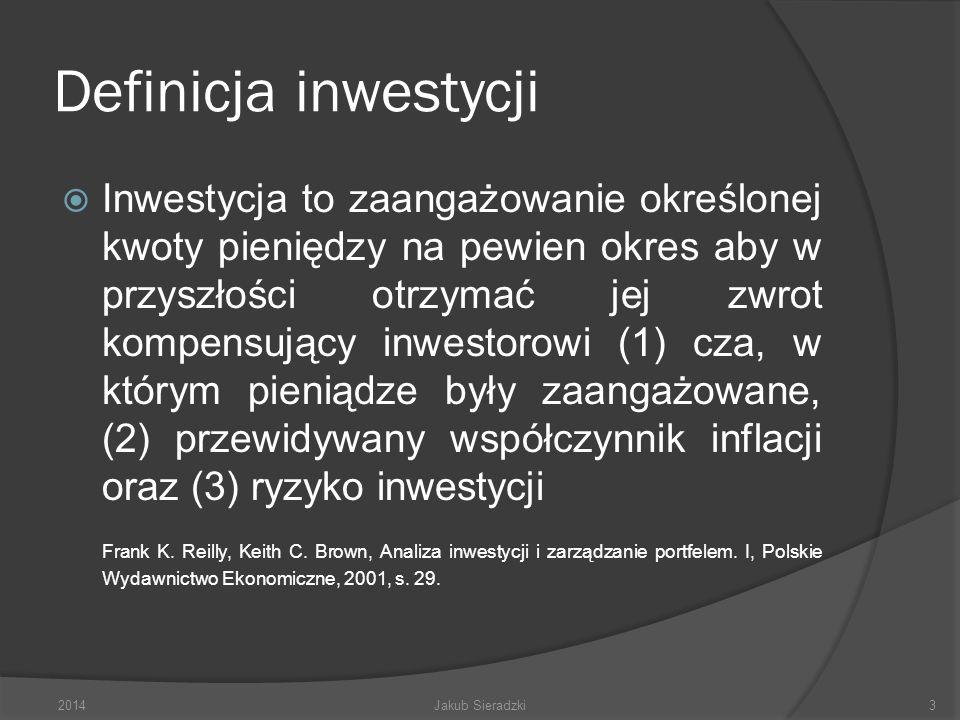 Definicja inwestycji