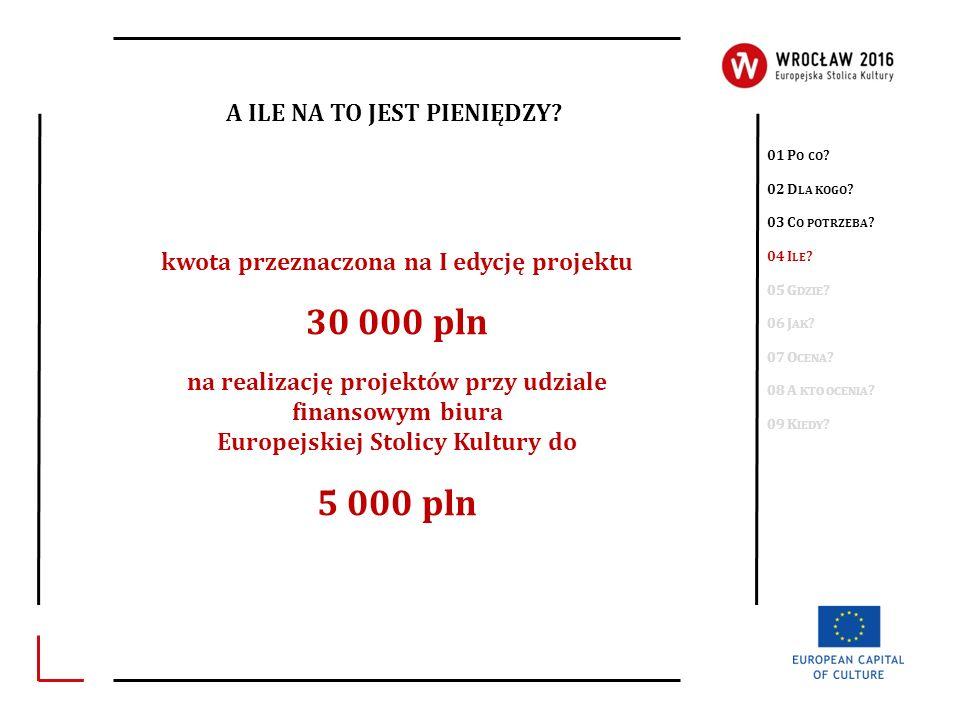 30 000 pln 5 000 pln A ILE NA TO JEST PIENIĘDZY