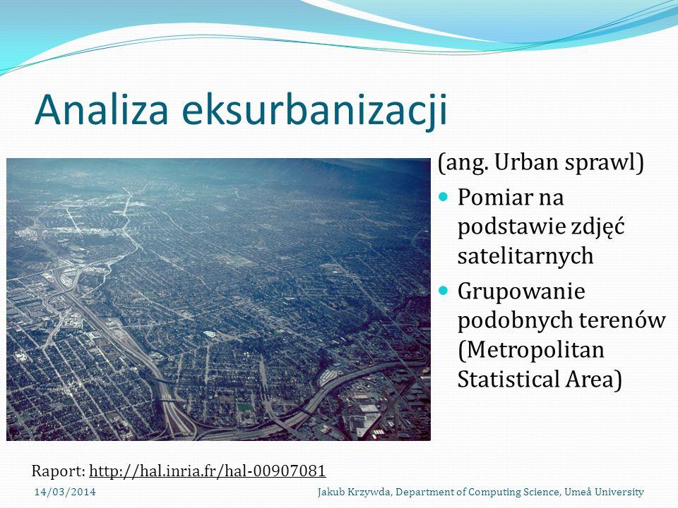 Analiza eksurbanizacji