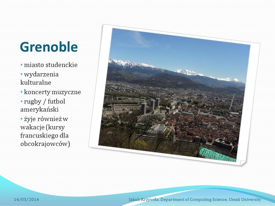 Grenoble miasto studenckie wydarzenia kulturalne koncerty muzyczne