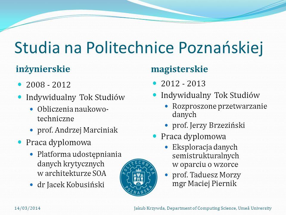Studia na Politechnice Poznańskiej