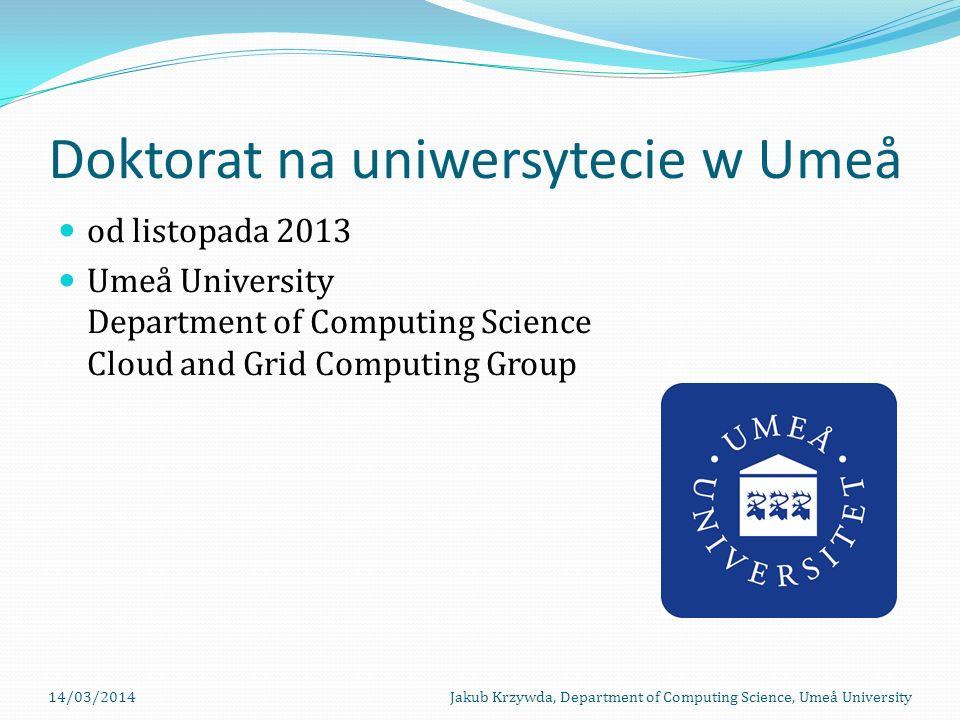 Doktorat na uniwersytecie w Umeå