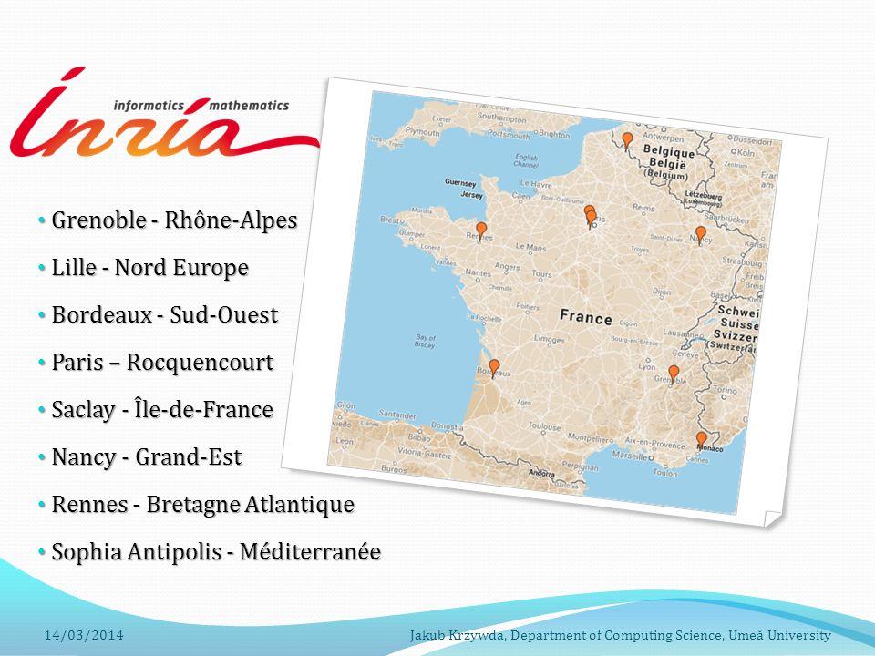 Grenoble - Rhône-Alpes Lille - Nord Europe Bordeaux - Sud-Ouest