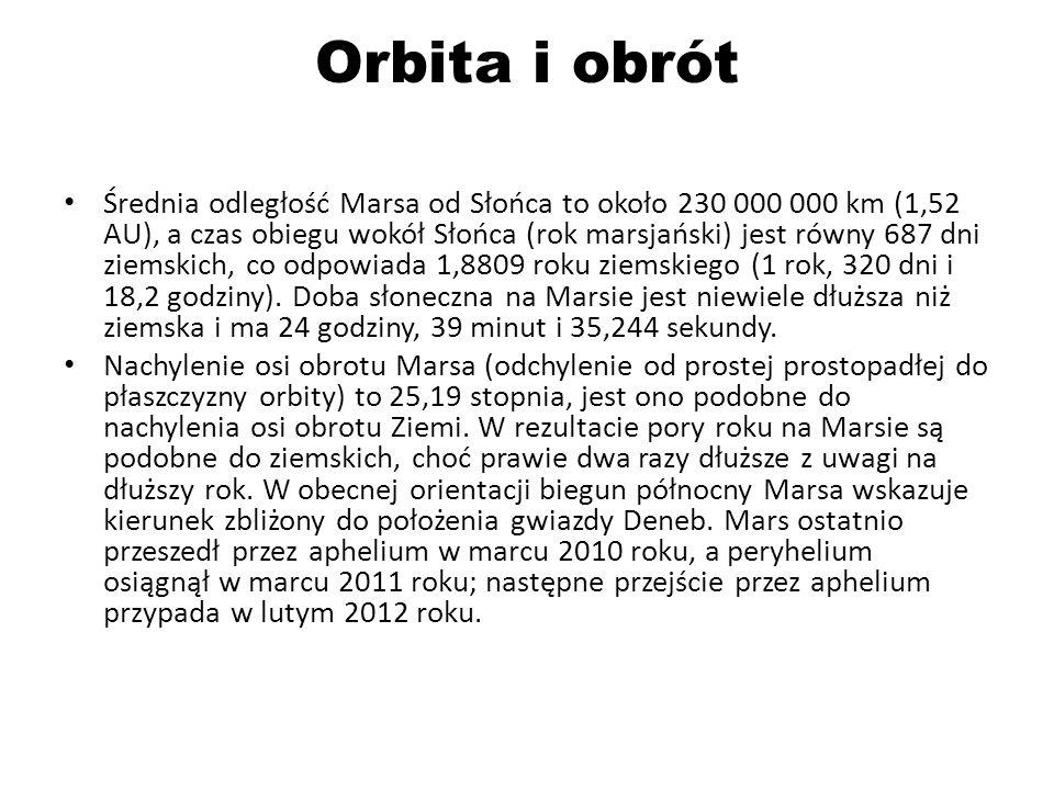 Orbita i obrót