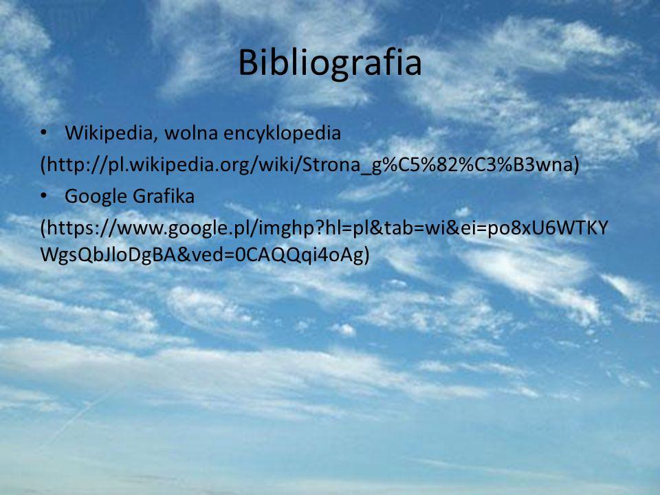 Bibliografia Wikipedia, wolna encyklopedia
