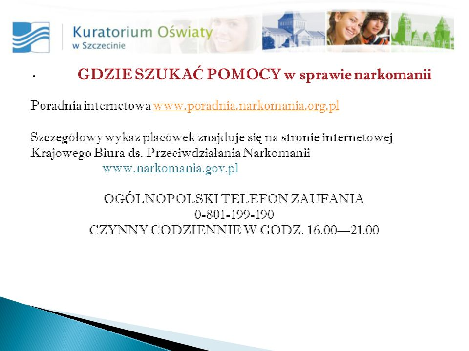 OGÓLNOPOLSKI TELEFON ZAUFANIA 0-801-199-190