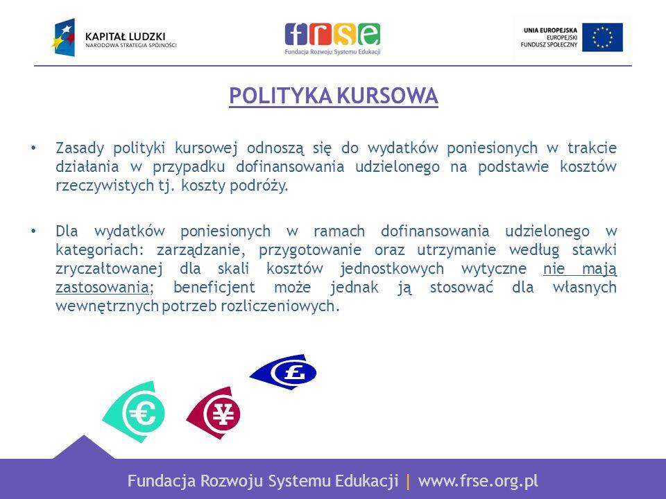 POLITYKA KURSOWA