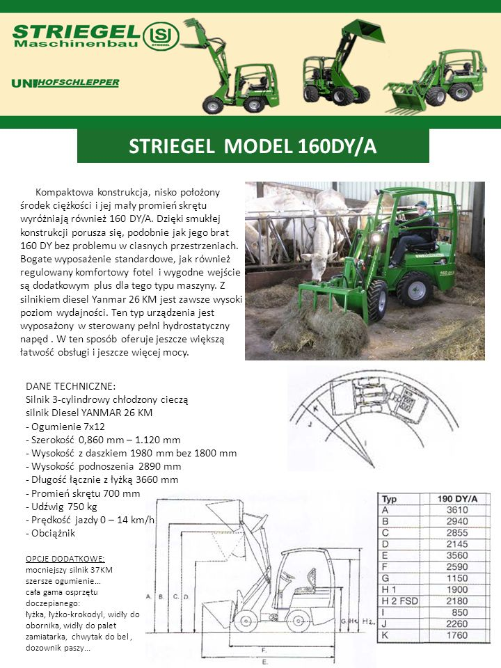 STRIEGEL MODEL 160DY/A